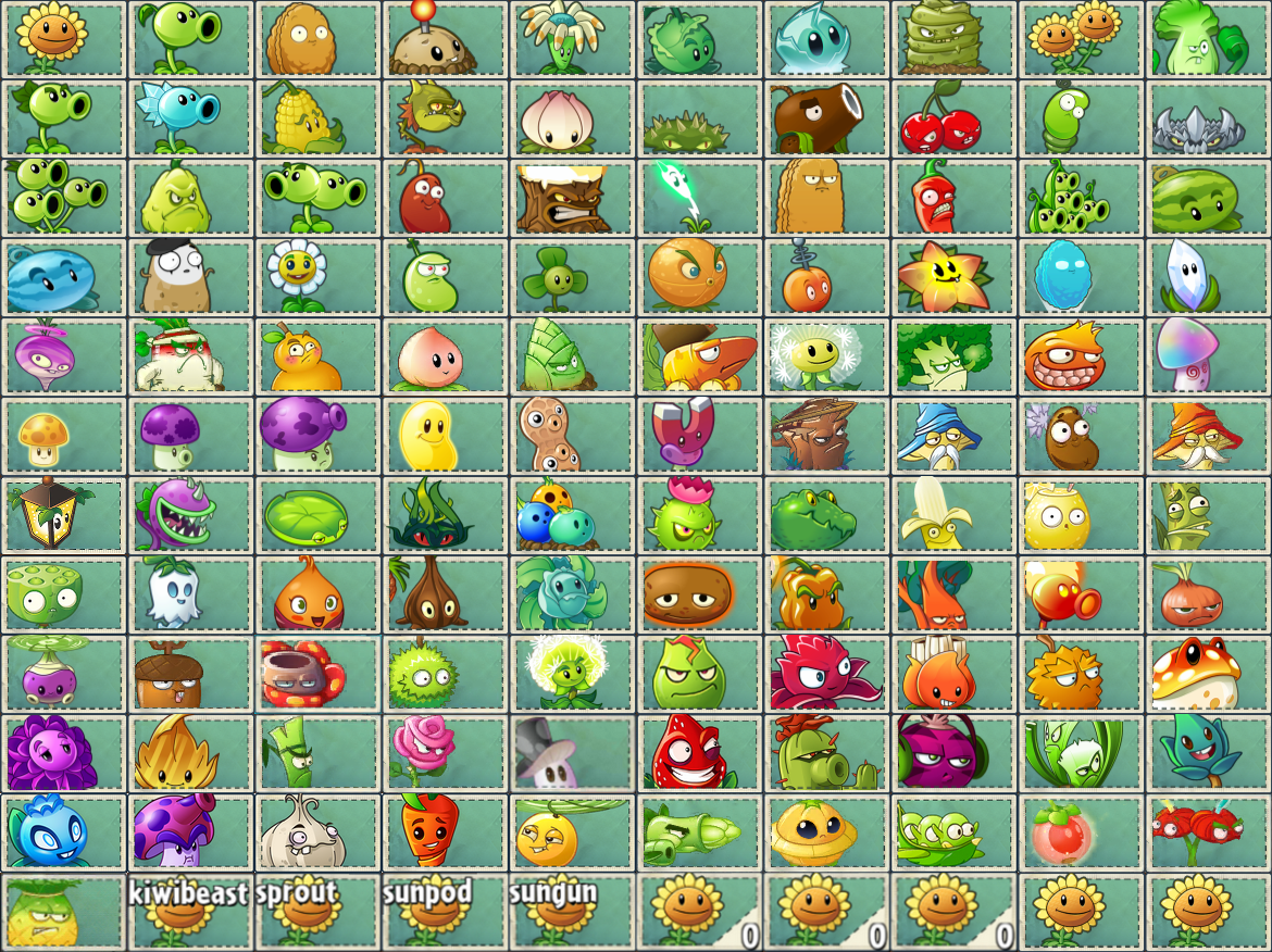 Plants Vs Zombies 2 Zombies List | other