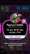 Paparazzi Zombie Description