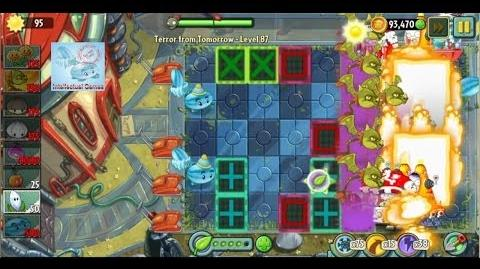 Terror From Tomorrow Level 87 SnapDragon Boost Power Tiles Plants vs Zombies 2 Endless GamePlay