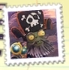 O'l deadbeard stamp