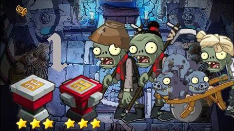 PvZ Online - Adventure Mode - Mausoleum Advent 1