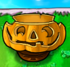Flower pot pumpkin