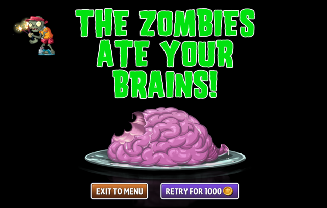 File:Zombie with no arm or wrist and he's eating brainz anyway.png