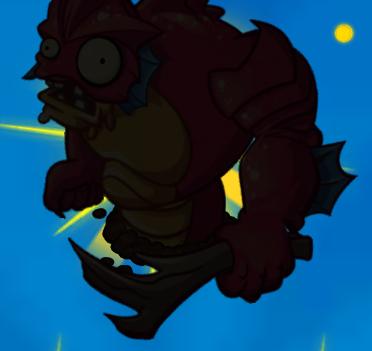 File:Deep Sea Gargantuar silhouette.png