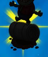 Toxic imp silhouette