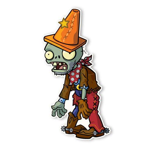 File:Conehead Cowboy Zombie.jpg