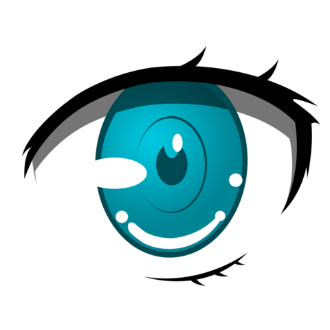 File:Anime eye by pen tool practice by philomathicdusk-d70z32w.png