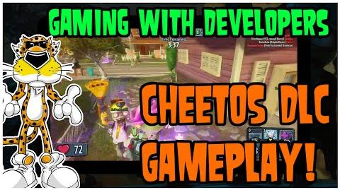PvZ Garden Warfare Gaming with Developers - New Cheetos DLC! - First Gameplay?