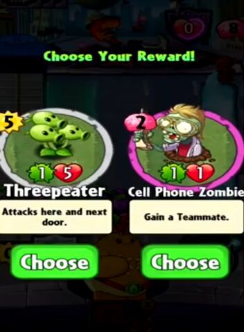 File:Choice between Threepeater and Cell Phone Zombie.jpeg