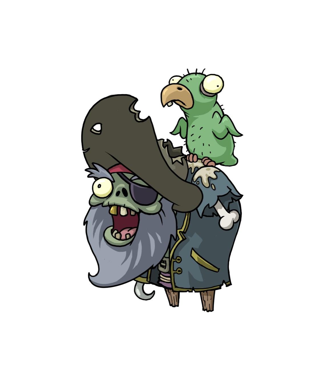 pirate captain zombie plants vs zombies wiki fandom powered