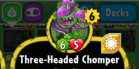 Three-Headed Chomper
