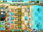 Nicko756 - PvZ2 - Big Wave Beach - Day 15 - 001