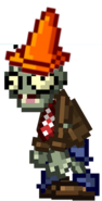 8-bit cone-head