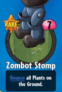 Receiving Zombot Stomp
