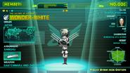 White's profile