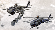 Helicopter Drone Concept Art