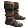 Native American Hide Shoes icon