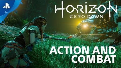 The Combat of Horizon Zero Dawn - Countdown to Launch at PS Store PS4