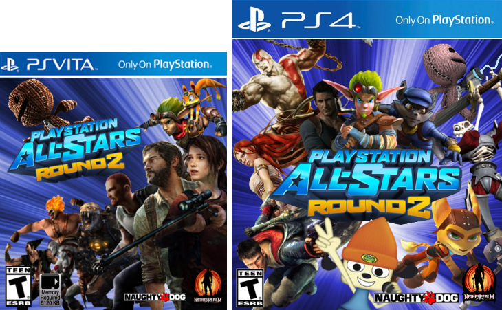 Playstation All Stars Wiki: Image - PS4 & Vita Round 2.png