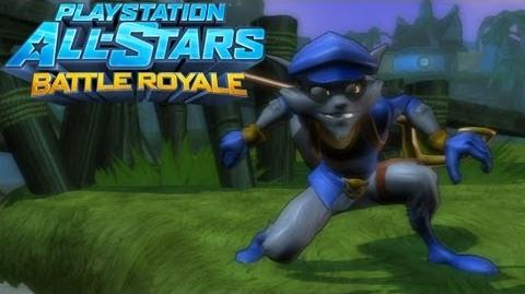 Sly Cooper Gameplay on Dreamscape - PlayStation All-Stars Battle Royale
