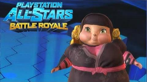 """Playstation All Stars Battle Royale Fat Princess """"Ninja Princess"""" Costume Review (Commentary) (PS3)"""