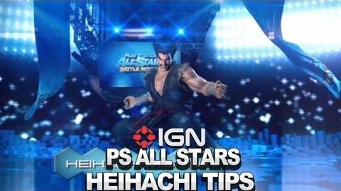 Seth Killian's Heihachi Tips & Tricks - PlayStation All-Stars