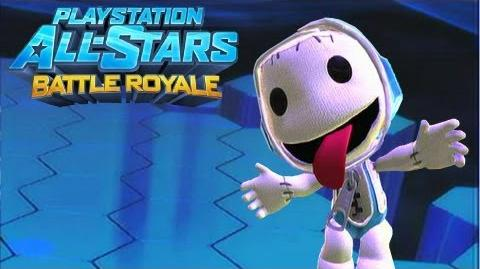 """Playstation All Stars Battle Royale Sackboy """"Wrestler"""" Costume Review (Commentary) (PS3)"""