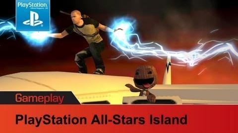 PlayStation All-Stars Island gameplay video