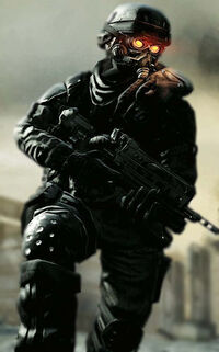Helghast Soldier by unsane fox