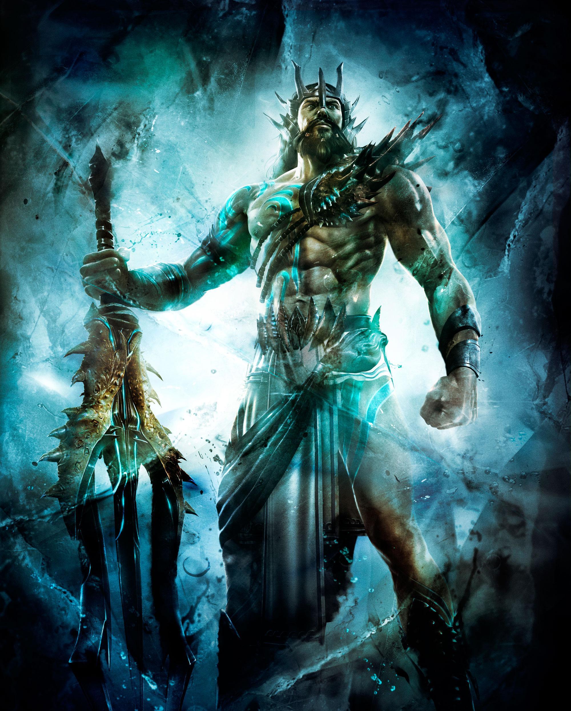 Poseidon | PlayStation All-Stars Wiki | Fandom powered by ...