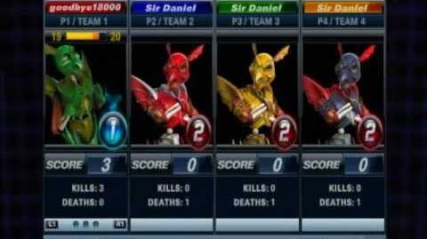Playstation AllStars Battle Royale - Sir Dan's Colors (Unlockable Costume)
