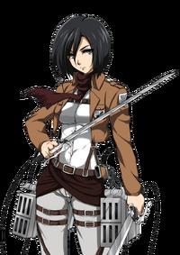 Mikasa ackerman render by mikumendoza2-d6lkrqh