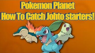 Pokemon Planet - How To Get Totodile, chikorita, and cyndaquil!