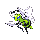 File:Beedrill HGSS Shiny Sprite.png