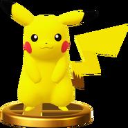 Pikachu trophy SSBWU