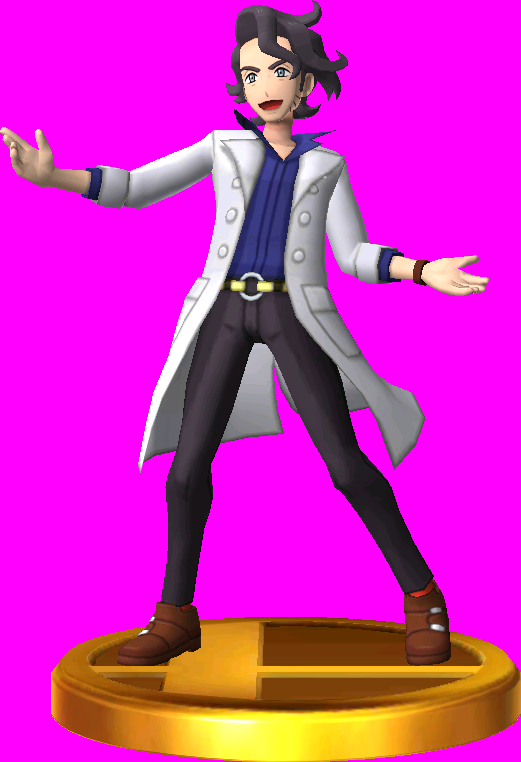 File:Professor Sycamore trophy SSB3DS.png