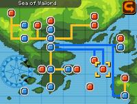 Sea of Wailord Map Almia