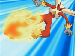 May Blaziken Blaze Kick