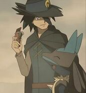 Sir Aaron and Lucario
