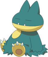 446Munchlax DP anime 4