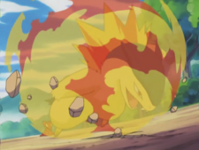Mr Moore Typhlosion Flame Wheel