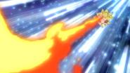 Togepi Flamethrower