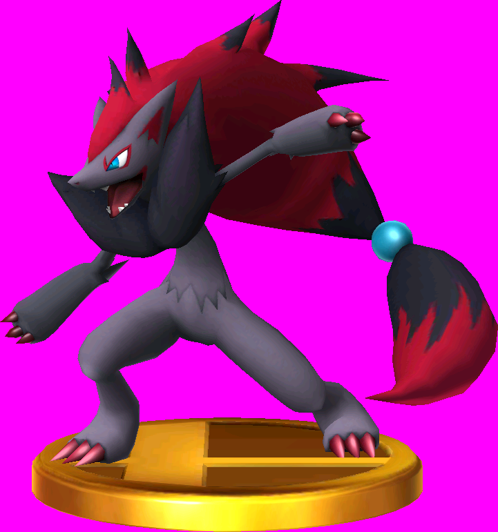 File:Zoroark trophy SSB3DS.png
