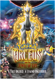 Arceus and the Jewel of Life poster