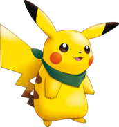 025Pikachu Pokemon Mystery Dungeon Explorers of Sky