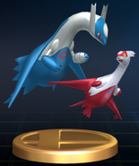 Latias and Latios trophy SSBB