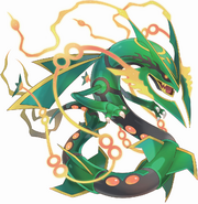 384Mega Rayquaza Pokemon Super Mystery Dungeon