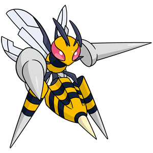 File:015Beedrill Mega Dream.png