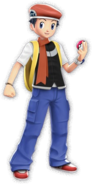 Lucas from Pokemon Battle Revolution