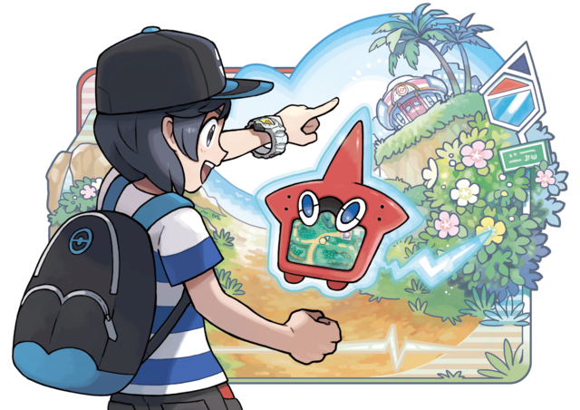 File:Sun Moon Rotom Pokédex artwork.png